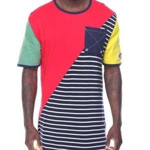 Reason Brand Mako half stripe tee